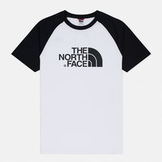Men's T-shirt The North Face SS Raglan Easy TNF White / TNF Black – Hyipmoda