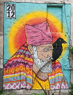 ABRA KADABRA. Broken Fingaz with Seth (Paris), Downtown Haifa. #street art #graffiti. 000