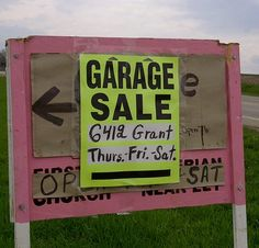 How to Make Money with a Garage Sale