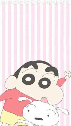 Sinchan Wallpaper, Cartoon Wallpaper Iphone, Cute Wallpaper Backgrounds, Cute Cartoon Wallpapers, Sinchan Cartoon, Doraemon Wallpapers, Crayon Shin Chan, Cool Cartoons, Cute Icons