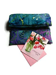 Blue Large Heat Pad - Therapy Heat Pack - Migraines - Menopause - Spa Gift - Girlfriends Gift Idea - Gifts under 25 - Mothers Day Gifts