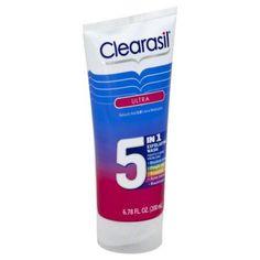 Clearasil Ultra 5in1 Exfoliating Wash 6.78 oz.