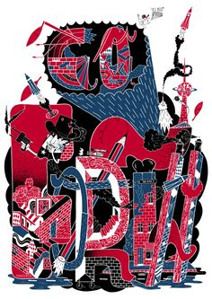 Klub7 // Go Forth // Print for LEVIS. Berlin (2011)