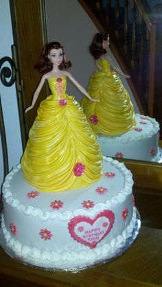 My Belle Princess cake