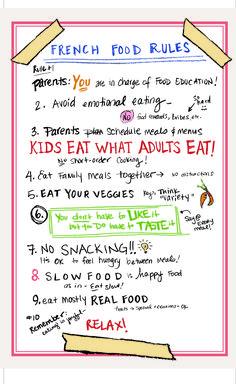 reglas alimentación saludable