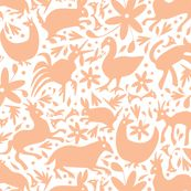 Spoonflower digitally printed fabric: create your own fabric print. Can also get otomi prints here.