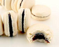 La Cuisine de Bernard: Les Macarons Chocolat Caramel