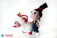 Ravelry: Agnes (depicable me) 2.0 pattern by Ahooka Migurumi