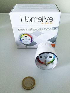 Prise intelligente home live Plus de découvertes sur Le Blog Domotique.fr #domotique #smarthome #homeautomation