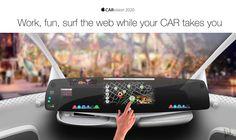 Apple CARvision 2020. Interior Design on Behance