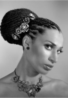 Collar City Brownstone: Beautiful Natural Hair Up-dos