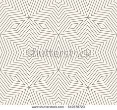 Subtle vector geometric background texture, seamless pattern with thin lines, rhombuses, linear stars, repeat tiles. Abstract minimalist backdrop. Delicate design for prints, decor, fabric, linens