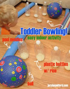 Hello Awesome: Easy Indoor Activity: Toddler Bowling!