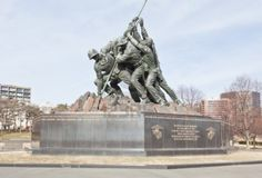 The United States Marine Corps War Memorial in Washington DC. Trust And Loyalty, Lest We Forget, Semper Fi, Marine Corps, Monuments, Washington Dc, Statues, Statue Of Liberty, Utah