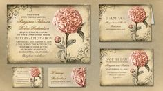 20 Creative And Unique Vintage Wedding Invitations 21st