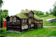 Trondheim old house, Norway