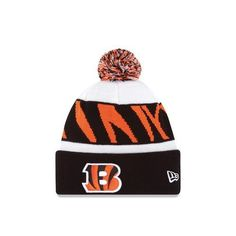 26d6dedf9 New Era Cincinnati Bengals 2013 On-Field Player Sideline Sport Knit Hat-  Black White