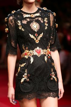Dolce & Gabbana goes to Spain for Spring 2015 Ready-to-Wear