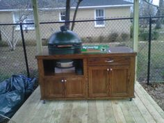 big green egg table blueprints | My new table - Big Green Egg - EGGhead Forum - The Ultimate Cooking ...