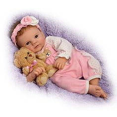 Un-bear-ably Cute! So Truly Real Baby Doll - Realistic Baby Dolls
