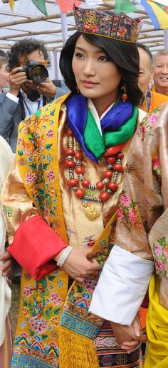 13 October 2011 - Royal Wedding of King Jigme Khesar Namgyel Wangchuck to Ashi Jetsun Pema in Punakha Dzong