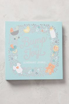 Bump For Joy Pregnancy Journal by Anthropologie in Blue, Kids, Pregnancy Journal, Pregnancy Tips, Baby Soap, Pregnancy Information, After Baby, Pregnant Mom, First Time Moms, Mom And Dad, New Baby Products