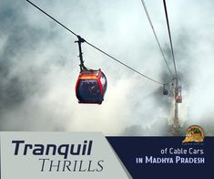 Across the misty Marble Rocks & #Dhuandhar falls of #Jabalpur in #MadhyaPradesh, the #CableCar ropeway ride is an experience of paradox. You'll live through thrill & tranquility, all at the same time...