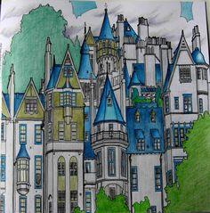 Fantastic Structures Edinburgh Fantasticstructures Fantasticstructurescolouringbook Adultcolouring Colouringbook