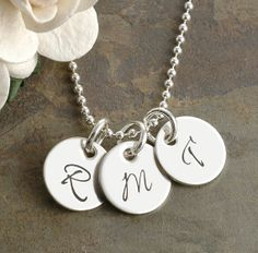 Stamped Personalised Necklace