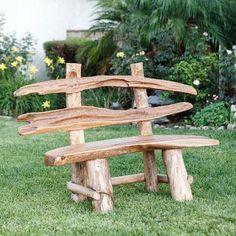 Rustic Outdoor Furniture, Driftwood Furniture, Pallet Garden Furniture, Driftwood Projects, Furniture Decor, Outdoor Decor, Antique Furniture, Modern Furniture, Rustic Outdoor Benches