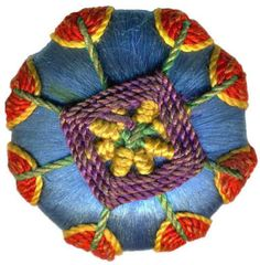 button-- Silk Thread/Cord
