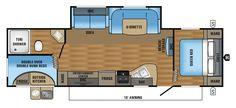 2017 Jay Flight SLX 284BHSW Floorplan