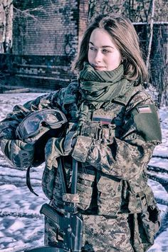 #russian #Russia Russian womans military Russian girls military - Russian army русские девушки военные - российская армия