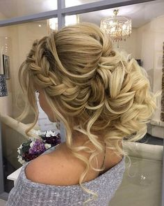 Elstile Long Wedding Hairstyle Inspiration ❤️ http://www.deerpearlflowers.com/elstile-long-wedding-hairstyle-inspiration/3/