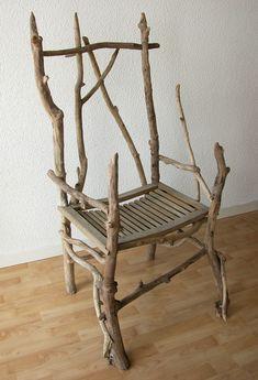 7 meilleures images du tableau chaise bois flott en 2017 chaises bois meuble bois et banc bois - Chaise bois flotte ...