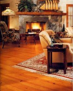 area rug over #hardwood #flooring in the #livingroom
