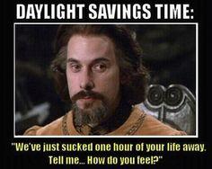 I hate it when the clocks change