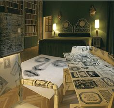 Fornasetti interior | The House of Beccaria~