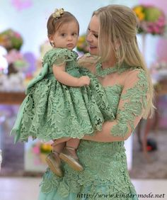 - Mom and Baby Mommy Daughter Dresses, Mother Daughter Matching Outfits, Mother Daughter Fashion, Mommy And Me Outfits, Mom Dress, Mom Daughter, Family Outfits, Baby Dress, Kids Outfits