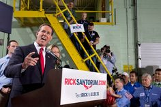 A former senator from Pennsylvania, Mr. Santorum was the runner-up in the 2012 Republican primary race, buoyed by the support of social conservatives, but has had little traction this time.