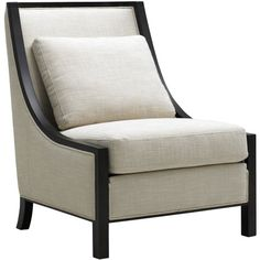 """Massimo Occasional Chair from the Sunpan Modern Home event at Joss and Main!  A luxe addition to your home, this gorgeous design from Sunpan Modern is a chic marriage of urbane elegance and contemporary design.     Product: Occasional chair  Material: Solid wood and fabric  Colors: Matte black and natural  Features:  Transitional design  Includes a back pillow  Dimensions:  Seat: 19""""H  Overall: 38""""H x 38""""W x 30.5""""D  Retail $1500. This Event $691."""