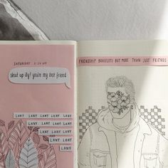 paul cut his hair and now idk how to draw him so here's this • #lany #sketchbook #journal