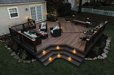 Ideas to transform your backyard into an outdoor living space. From decks to porches to patios, discover design tools, design ideas, a project calculator & more. Patio Deck Designs, Patio Design, House Design, Wood Design, Patio Ideas, Pergola Ideas, Outdoor Ideas, Pergola Kits, Back Yard Deck Ideas
