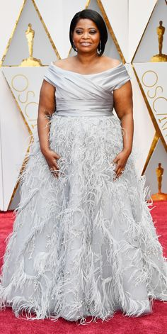 See All the Celebrity Looks from the 2017 Academy Awards Red Carpet - Octavia Spencer from InStyle.com