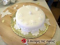 Κάλυψη τούρτας με ζαχαρόπαστα