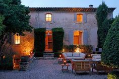 In the peaceful natural setting of the Luberon hills of Provence, France sits this authentic Provencal noble house called 'La Bastide des Chenes', ...