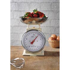 Mason Cash Traditional Kitchen Manual Scales - Cream available at Silvermushroom.com