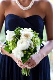 summer flowers for wedding with navy - Google Search