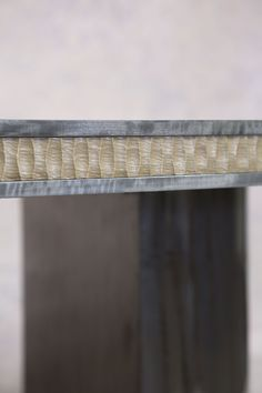 Howes Dining Table - Detail Edge Shot - Hand carved ripple frieze edge in Bronze Architecture Awards, Architecture Design, Taylor Howes, Elegant Dining, Collaboration, Hand Carved, Living Spaces, Furniture Design, Dining Table