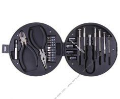 Various Size Interchangable Screwdriver Pliers Tool Set Kit Wheel Toolbox